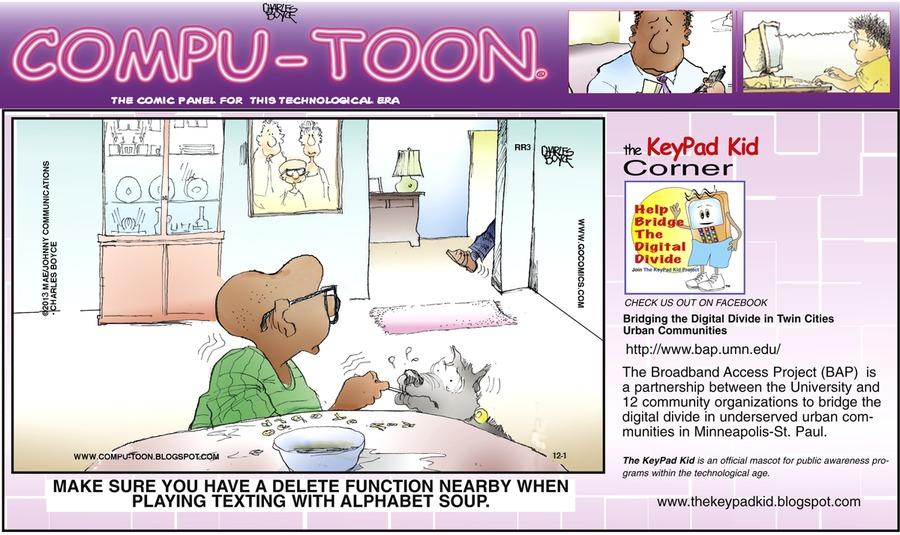 Compu-toon Comic Strip for December 01, 2013