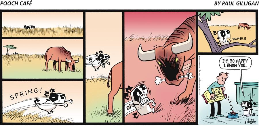 Pooch Cafe Comic Strip for September 25, 2016