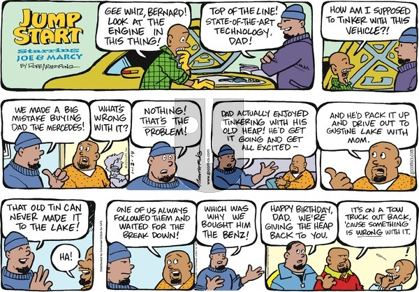 JumpStart on Sunday January 12, 2014 Comic Strip