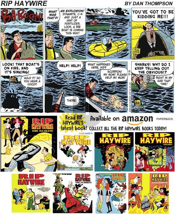 Rip Haywire on Sunday February 3, 2019 Comic Strip
