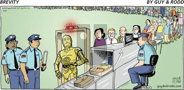 Brevity on Sunday September 27, 2009 Comic Strip