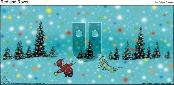 Red and Rover - Sunday December 22, 2019 Comic Strip