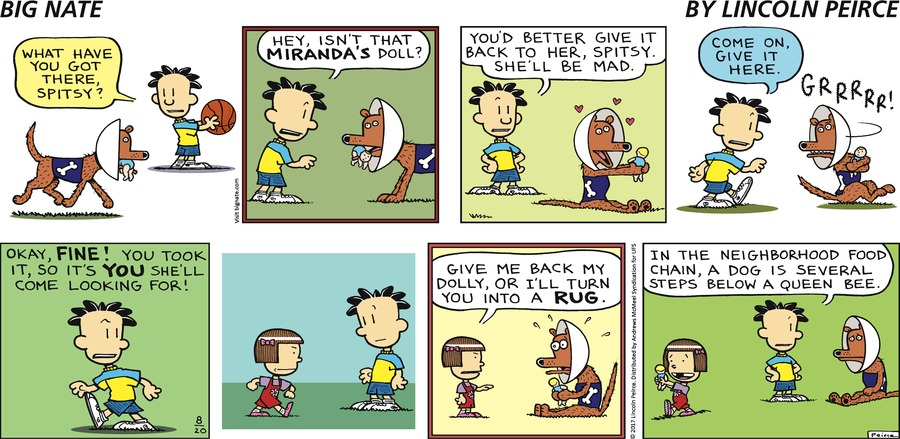 Big Nate Comic Strip for August 20, 2017