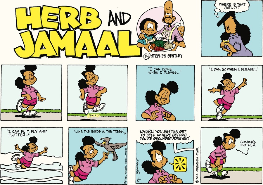 Herb and Jamaal Comic Strip for April 21, 2019