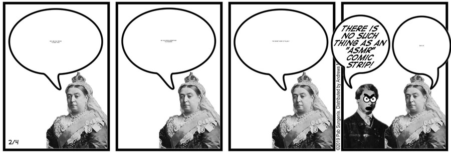 New Adventures of Queen Victoria Comic Strip for February 04, 2019