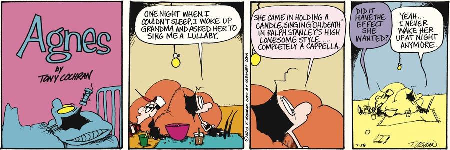 Agnes for Jul 28, 2013 Comic Strip