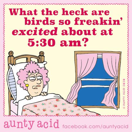 Aunty Acid Comic Strip for February 15, 2020