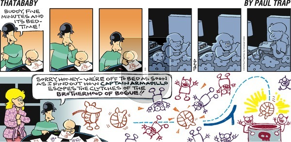 Thatababy on Sunday August 30, 2015 Comic Strip