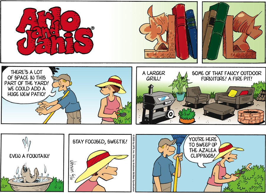 Arlo and Janis Comic Strip for June 14, 2020