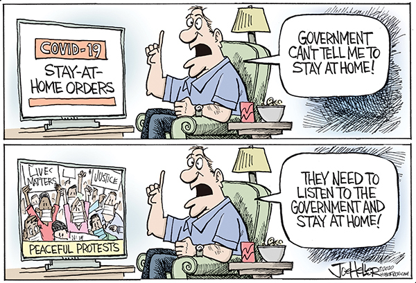 Joe Heller Comic Strip for June 03, 2020