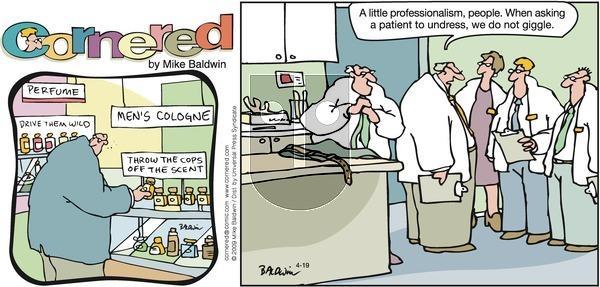 Cornered on Sunday April 19, 2009 Comic Strip