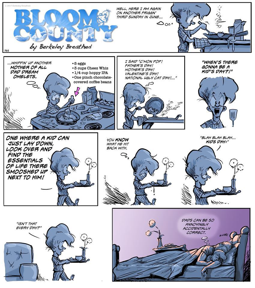 Bloom County 2019 by Berkeley Breathed for June 23, 2019