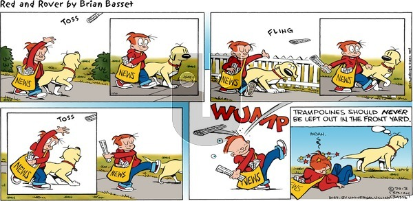 Red and Rover on Sunday November 10, 2013 Comic Strip