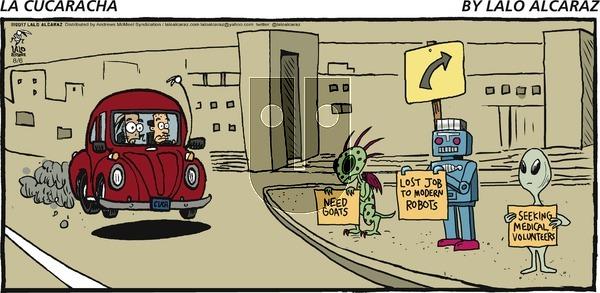 La Cucaracha on Sunday August 6, 2017 Comic Strip