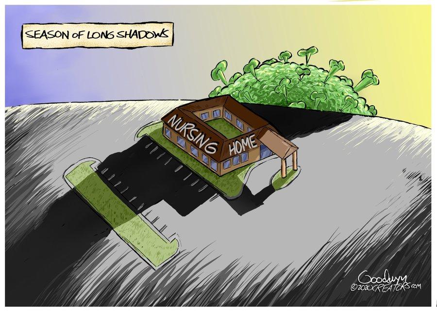 Al Goodwyn Editorial Cartoons Comic Strip for November 18, 2020