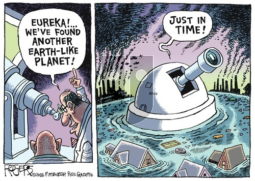 Rob Rogers on Sunday August 28, 2016 Comic Strip