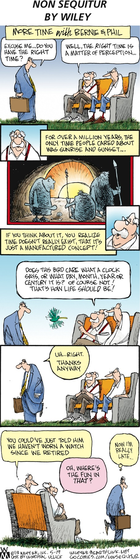 Non Sequitur for May 19, 2013 Comic Strip