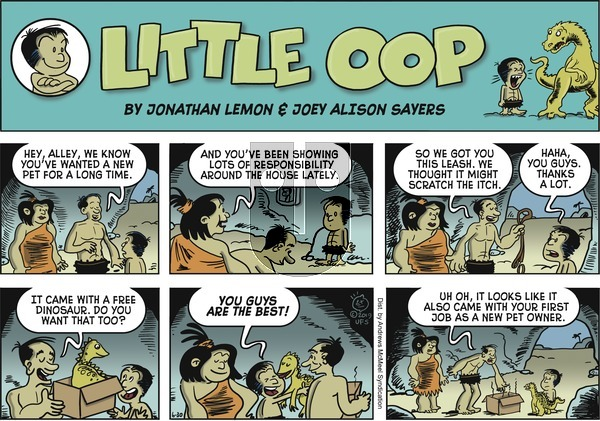 Alley Oop on Sunday June 30, 2019 Comic Strip
