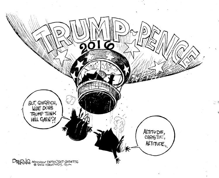 John Deering Comic Strip for July 17, 2016