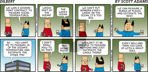 Dilbert on Sunday March 10, 2019 Comic Strip