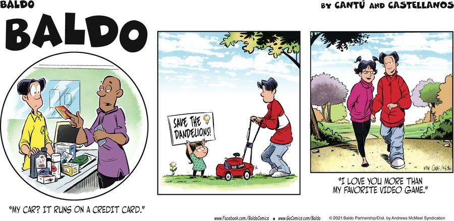 Baldo Comic Strip for January 24, 2021