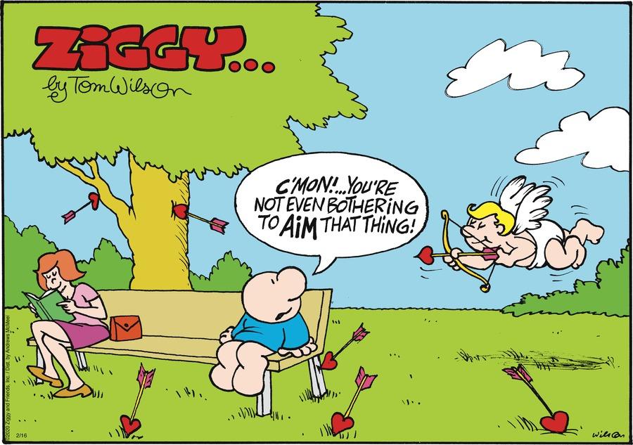 Ziggy Comic Strip for February 16, 2020