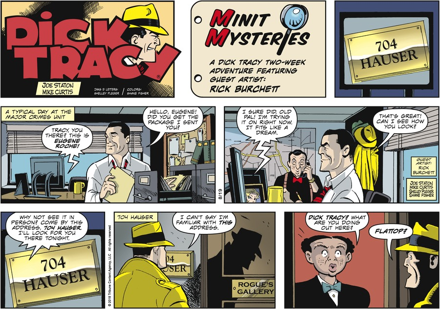 Dick Tracy Comic Strip for August 19, 2018