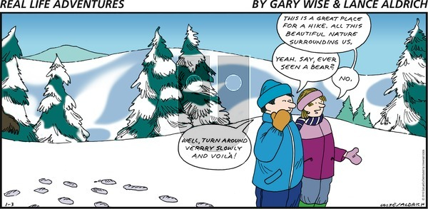 Real Life Adventures on Sunday January 3, 2016 Comic Strip