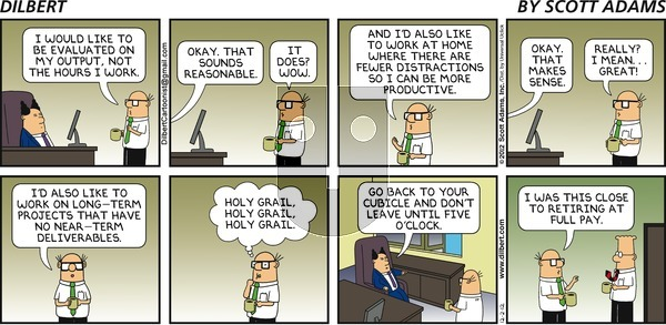 Dilbert on Sunday December 2, 2012 Comic Strip