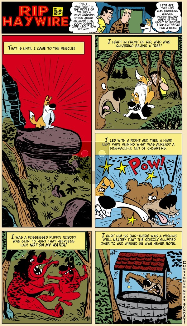 Rip Haywire - Sunday June 9, 2013 Comic Strip