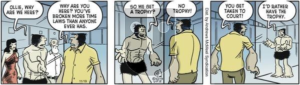 Alley Oop - Tuesday November 19, 2019 Comic Strip