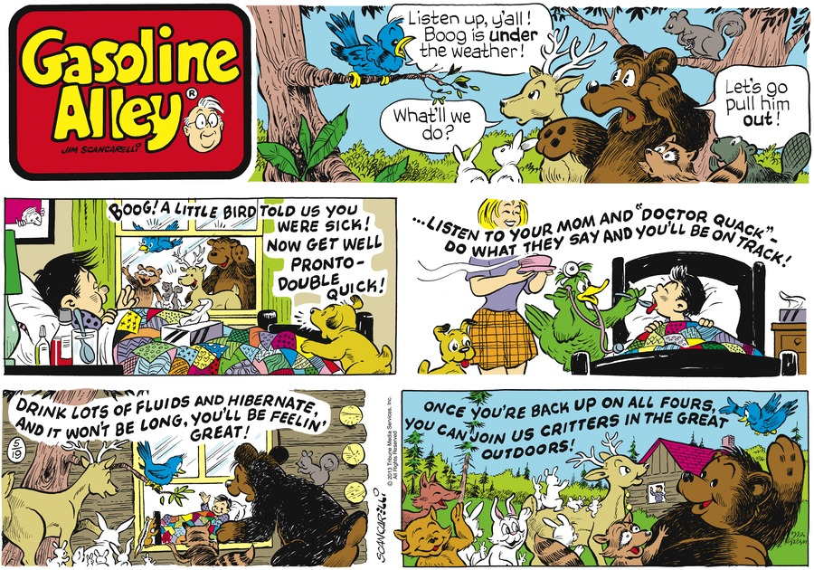 Gasoline Alley for May 19, 2013 Comic Strip