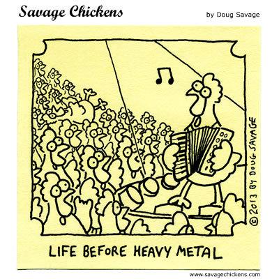 Life before heavy metal