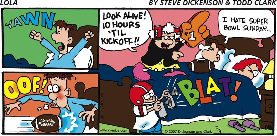 Lola Comic Strip for February 04, 2007