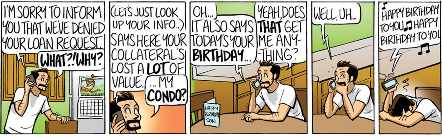 Beardo for Feb 14, 2013 Comic Strip