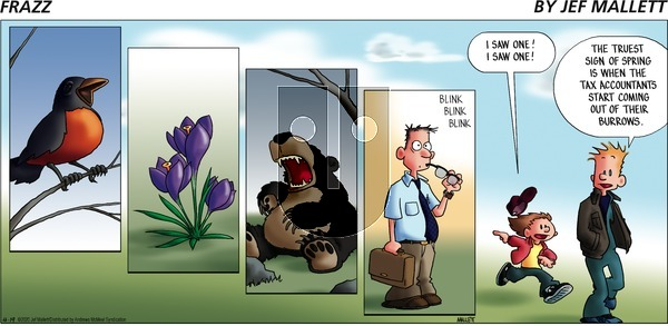 Frazz on Sunday April 19, 2020 Comic Strip