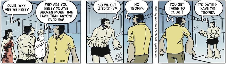 Alley Oop Comic Strip for November 19, 2019