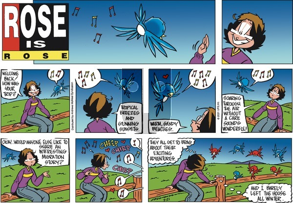 Rose is Rose on Sunday March 21, 2021 Comic Strip
