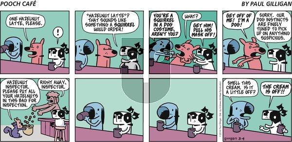 Pooch Cafe - Sunday March 4, 2018 Comic Strip