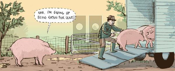 Berger & Wyse - Wednesday February 20, 2013 Comic Strip