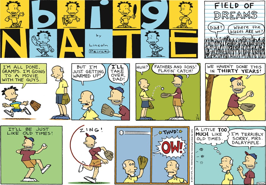 Big Nate Comic Strip for July 14, 2013